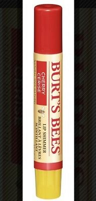 BURT'S BEES LIP SHIMMER ( Lots Of 4 ) CHERRY NEW & Sealed