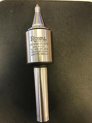 Royal 10663 Quad Bearing Live Center High Precision, Great Condition