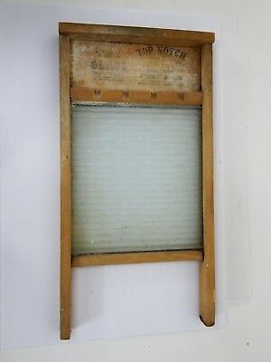 National Washboard Co. The Glass King #865 Made in USA