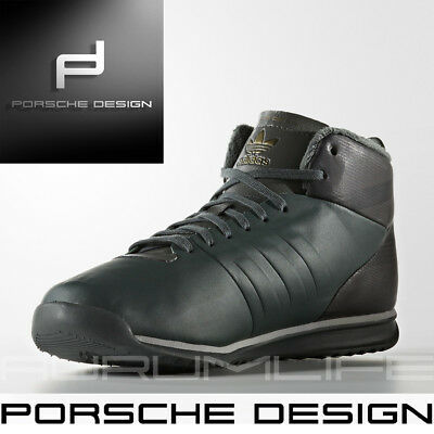 3504a3279 Adidas Porsche Design Shoes 911 Mens Winter Snow Bounce Tech Green Boot  S76116