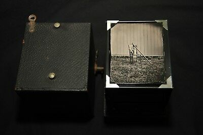 Wet Plate Collodion Kodak 3B Camera with 25 Tintype Plates