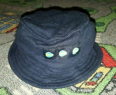BABY BOYS Sz 00 navy NOW insects hat CUTE! BUGS!