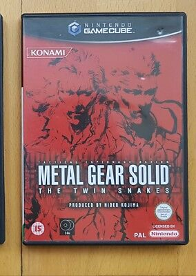 Metal Gear Solid Twin Snake BOX ONLY