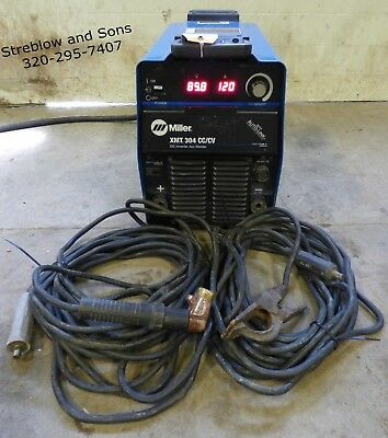 Miller XMT304 Inverter Multi Process Welder MIG TIG Stick Arc Pulse