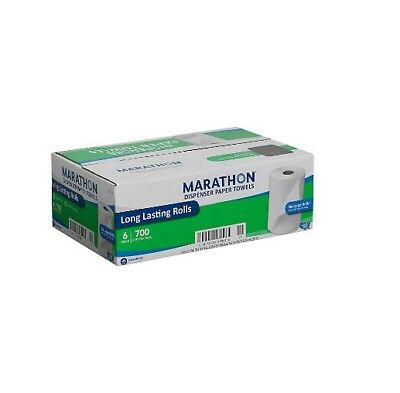 Marathon Dispenser Roll Paper Towels (700ft., 6 Rolls) Free Shipping