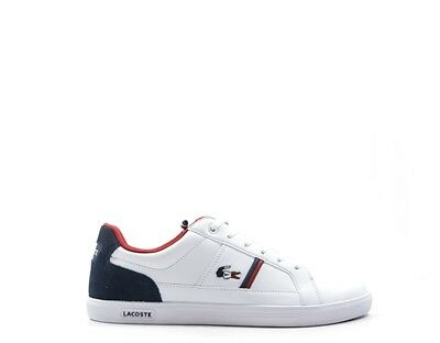 best authentic d4cd1 f28e2 SCARPE LACOSTE UOMO Sneakers trendy BIANCO Pelle naturale,PU 734SPM0012-042S