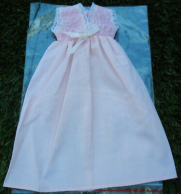 Vintage Aftermarket Ideal Crissy Doll Nightie - 1972 Wards Catalog Doll Clothes