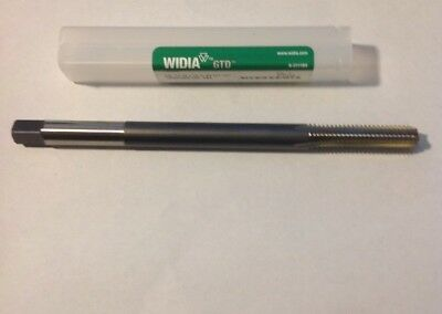 """Widia Gtd 18852 3/8""""-16 Unc 4 Flute Bottoming Straight Flute Ext Tap"""