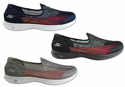 New Skechers Womens Go Step Lite Wispy Comfortable Slip On Casual Shoes