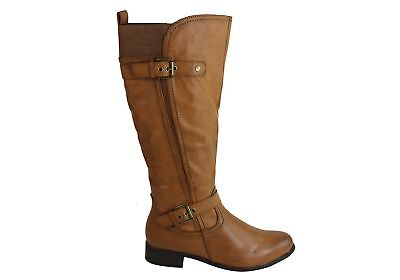 New Bellissimo Cynthia 2 Womens Comfortable Knee High Boots With Elastic