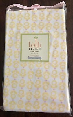 Brand New Lolli Living by Living Textiles Baby Cot Fitted Sheet