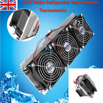 3 Chip Semiconductor Refrigeration Kit Thermoelectric Peltier Air Cooling Device
