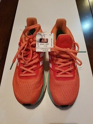 7f4860cd0 New Adidas Supernova Glide 9 Boost Womens Neutral Running Shoes - Orange sz  7 w