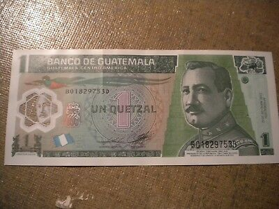 Banknote From Guatemala For Collection, Display or Learning Free Ship to US