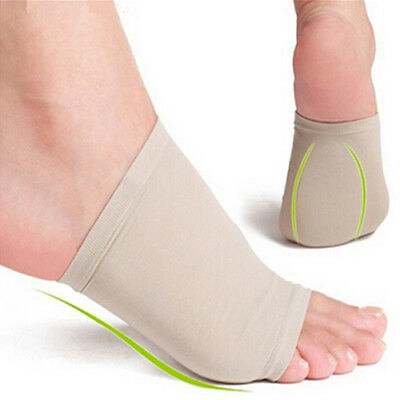 Gel Arch Support Cushion Plantar Fasciitis Pain Relief Foot Sleeve Sock Salable