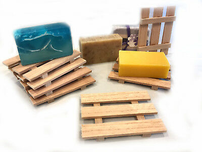 10 Spanish cedar soap dishes - .75 cents each - LIMITED TIME OFFER!!!