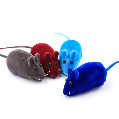 6pcs/lot Rubber False Mouse Cat Toy Squeaky Pet Toys For Kitten Interactive Toy