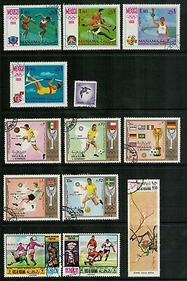 Lot 4959 - Middle East - Cancelled To Order or Used selection of 13 stamps