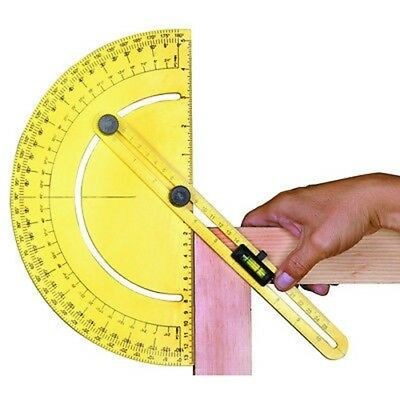 Protractor Gauge Gage T-Square Angle Tool Sliding Set Level Protracter Miter