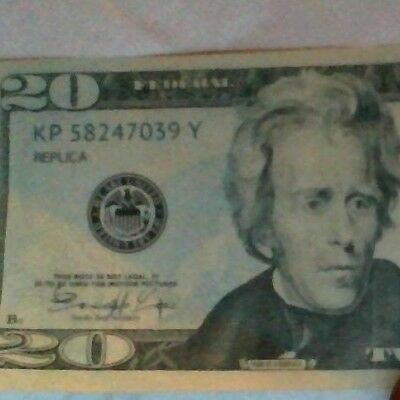 New CHEAP!! 20$  Novelty Fake Money - Most Realistic Paper Money (100$ in 20's)