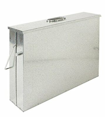 Fireside Ash Carrier Galvanised Metal Hot Tidy Box Container Fireplace Pan ...
