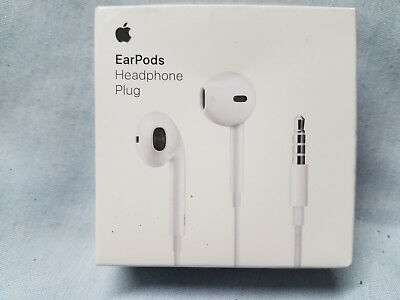 APPLE EarPods with Remote and Mic 3.5 mm Headphone Plug MNHF2AM/A