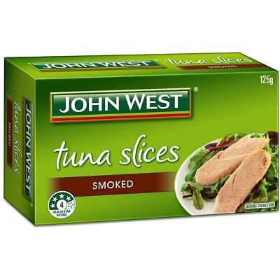 3x John West Tuna Slices Smoked In Olive Oil 125g