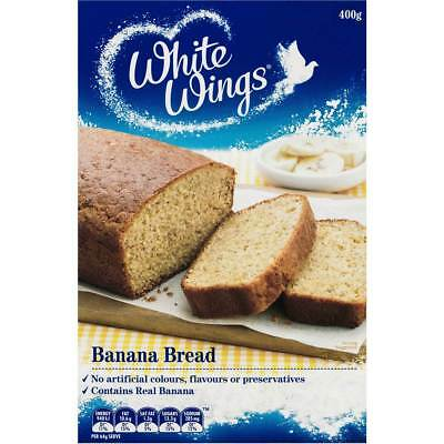 3x White Wings Cake Mix Café Style Banana Bread 400g