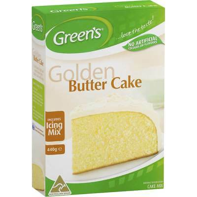 3x Greens Cake Mix Traditional Golden Butter 440g