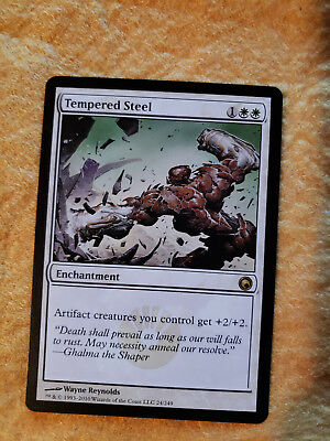 MtG x1 Tempered Steel Scars of Mirrodin Magic the Gathering NM