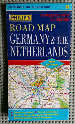 Philip's Road Map - Germany & The Netherlands