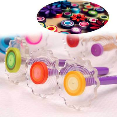 NEW Practical Paper Quilling Tool Curling Winder Tool Plate Origami DIY Craft AU