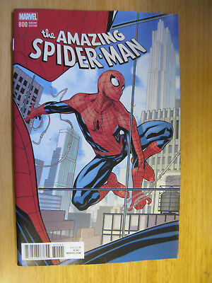 Amazing Spiderman #800, Dodson Variant Cover. Red Goblin.