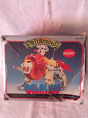 Popy Beralius Daltanius Daltanias In Good Conditions Vintage Robot