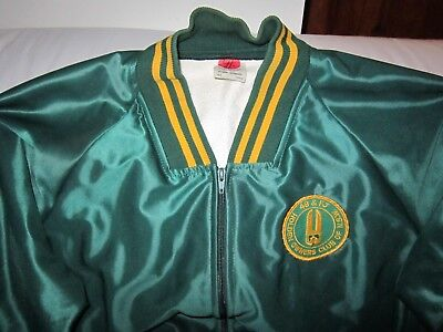 48 & Fj Vintage Holden Owners Of Nsw Club Zip Up Goodfellows Jacket Size Large