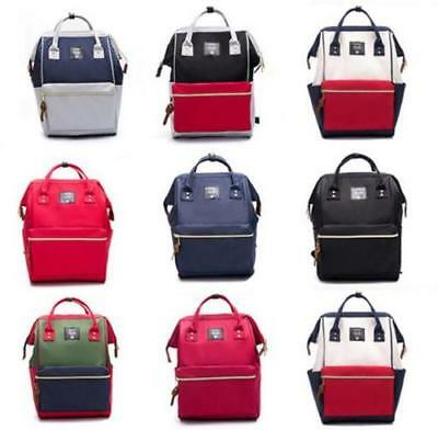 Unisex ANELLO Japan Handle Backpack Campus Rucksack School Bag Multi Color NEW
