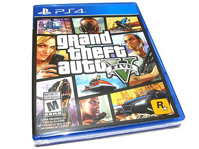 Grand Theft Auto V 5 (PlayStation 4) PS4 - NEW!