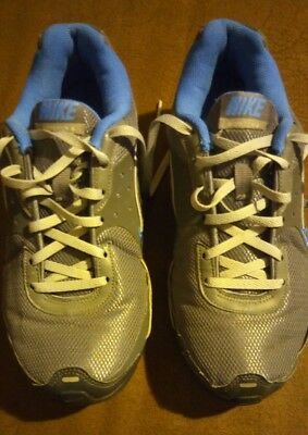 official photos fa9f6 b5962 Womens NIKE Air Max Refresh Size 6.5 Blue Gray Running Sneaker Shoes 366373 -002