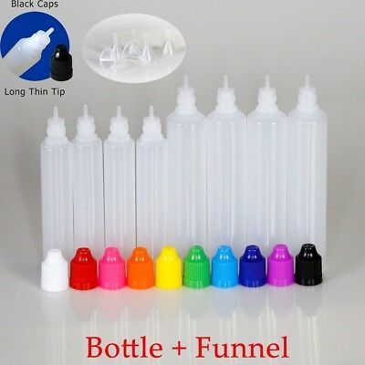 30ml/60ml Plastic Unicorn Dropper Bottles Juice Liquid Squeezable Containers