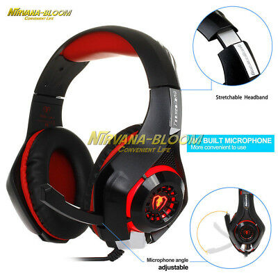 PS4 Headset Gaming Headset Headphone With Mic For Playstation 4 Xbox One PC Mac