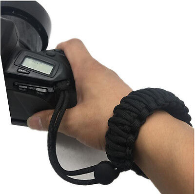 Braided 550 Adjustable Camera Wrist Strap for Samsung NX3000 NX2000 NX1100