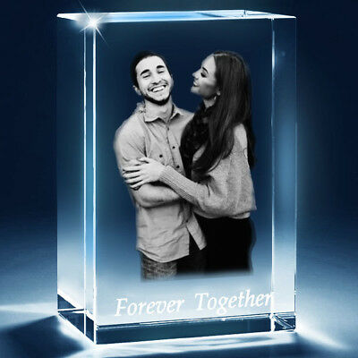 Personalised 3D Cat Rectangle Crystal_(PUT YOUR PHOTO IN A CRYSTAL)