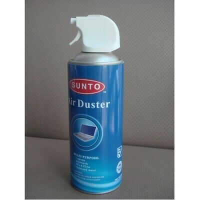 NEW GENERIC TOOL AIR 400 COMPRESSED AIR DUSTER 400ML/284G FOR CLEANING KEYBO.f.