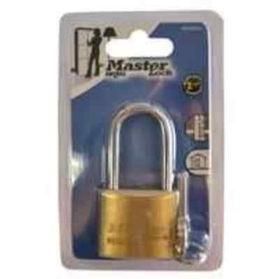 6x Master Lock Combination Lock Brass Long Shackle 40mm each