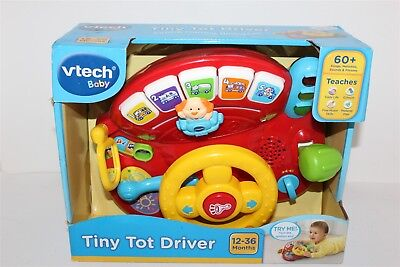 Vtech Baby Tiny Tot Driver Educational Toy 12-36 Months Brand New