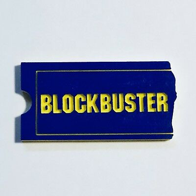BLOCKBUSTER Video Shelf Display - High Quality Custom Made - Classic Retail