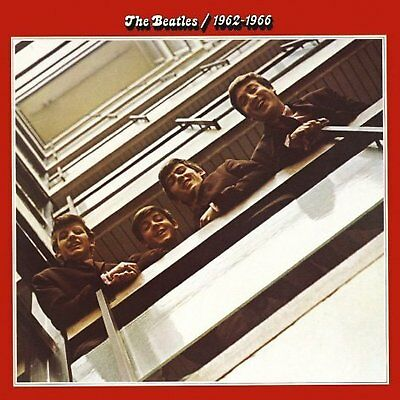 The Beatles Red Album Greeting Birthday Card Any Occasion Cover Fan Official