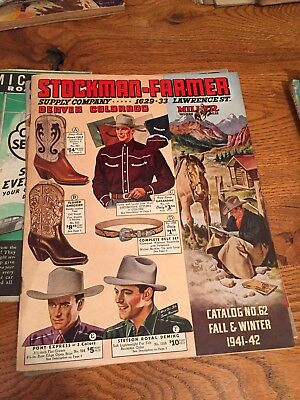 Stockman-Farmer Suppy Company Catalog no. 62 Fall/Winter 1941-42