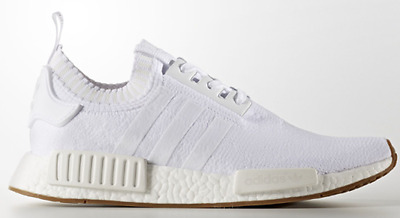 a59dd11962a4b7 Adidas NMD R1 PK Gum Pack Triple White Primeknit Men s Trainers BY1888 (PTI)