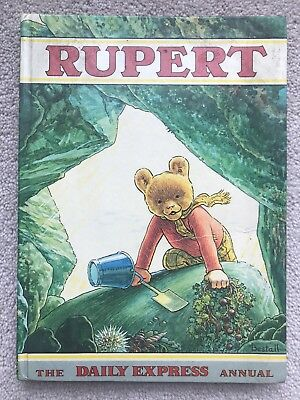 VINTAGE RUPERT BEAR - THE DAILY EXPRESS ANNUAL 1971 Collectors Children Book